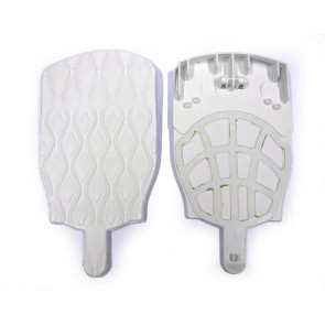 Salomon Full pad cover zone white (set)