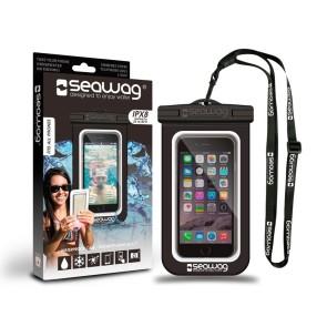 Seawag waterproof case for smartphone black