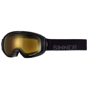 Sinner Mohawk goggle black polarized S1-S3