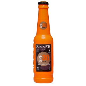 Sinner UV Creme bottle 200 ml SPF 30