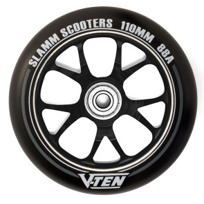 Slamm Astro alloy core stunt step wheels 110 mm black