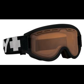 Spy Getaway goggle black - persimmon lens