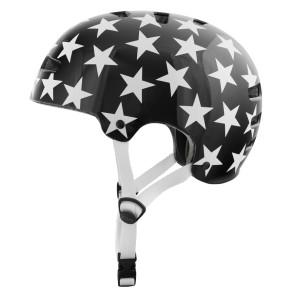 TSG Evolution Stars casque de skate noir-etoiles