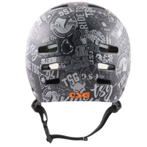 TSG Evolution casque de skate stickerbomb