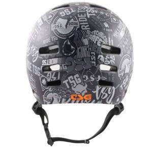 TSG Evolution casque de skate stickerbomb
