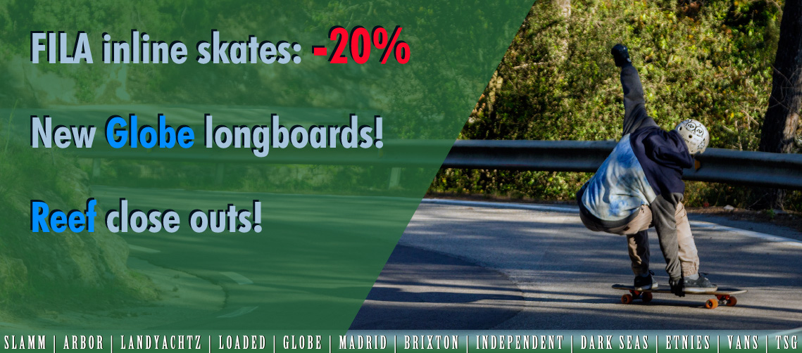 Longboards wakeboards wetsuits groningen 2018